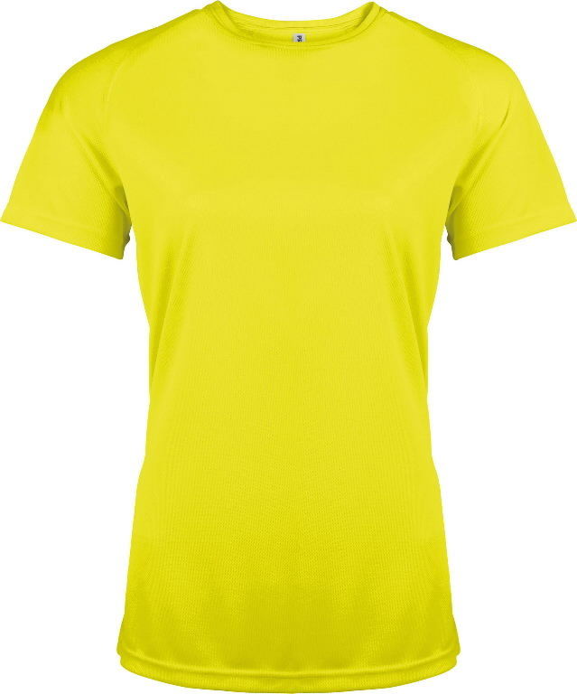 High-Visibility t-shirt Proact for woman yellow XS