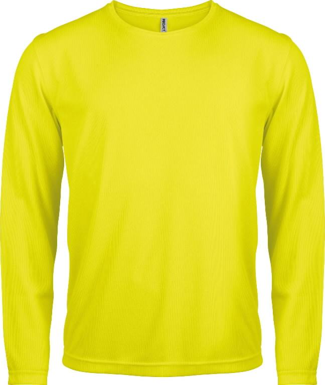 Kõrgnähtav särk pikkade käistega Proact kollane 2XL