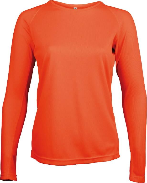 Marškinėliai ilgom rankovėmis Proact moteriški, oranžinė, Other