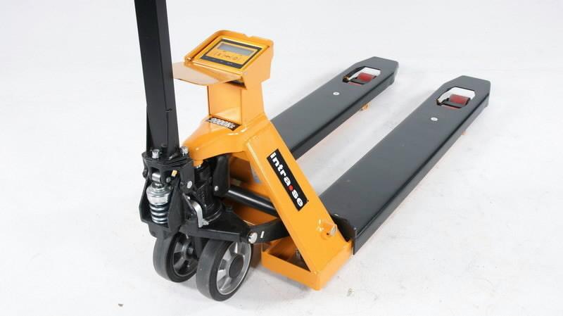 Paletinis vežimėlis su svarstyklėmis  ZF20,.2000kg, Intra