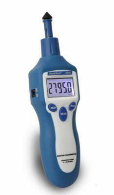 Tahhomeeter 2795 mehaaniline ja laseriga 1-99 999 p/min, PeakTech