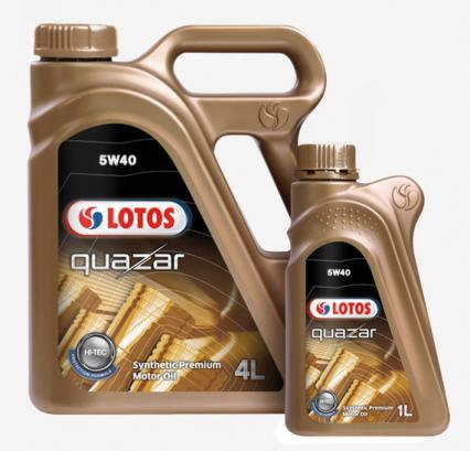 Motoreļļa QUAZAR C3 5W40 4+1L, Lotos Oil