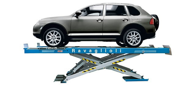 Flat runways with play detector, recessed intallation, Ravaglioli