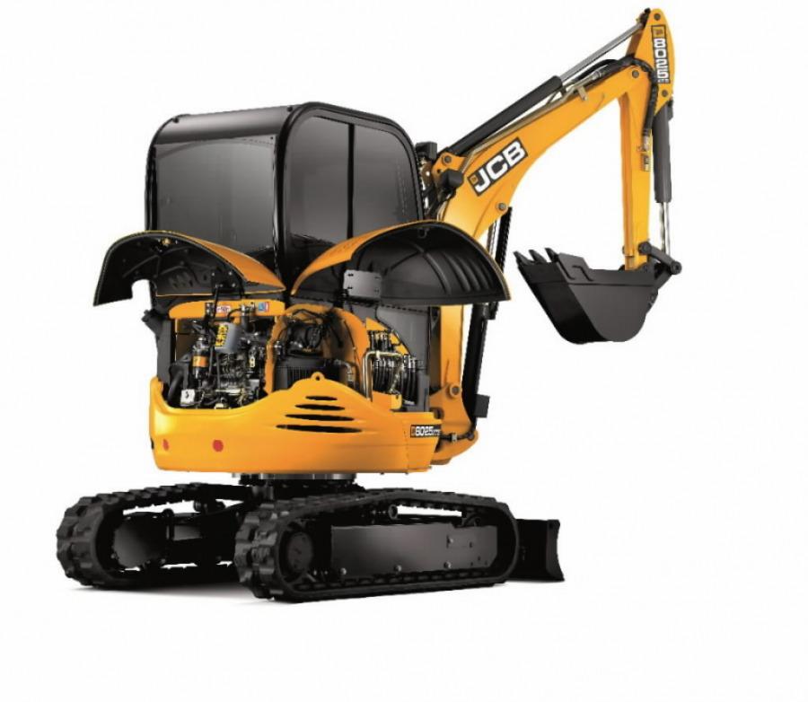 Rent, 8025 compact excavator, JCB