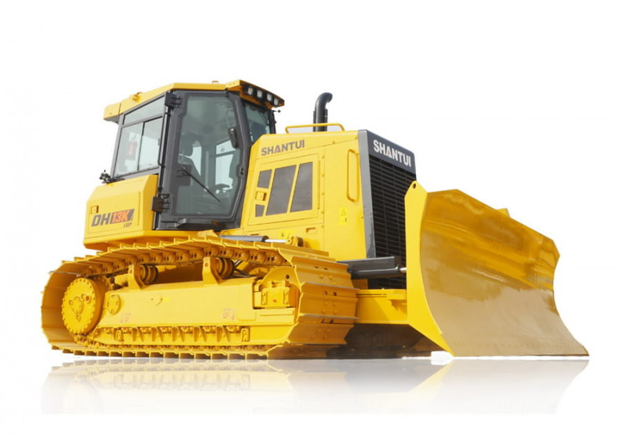 Rent, tracked excavator, 1h, Shantui