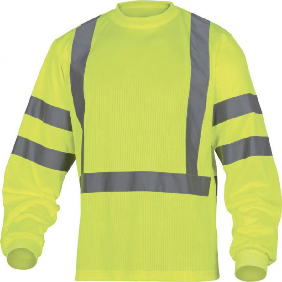 High-Visibility T-shirt with long sleaves Rudder Yellow 2XL, Venitex