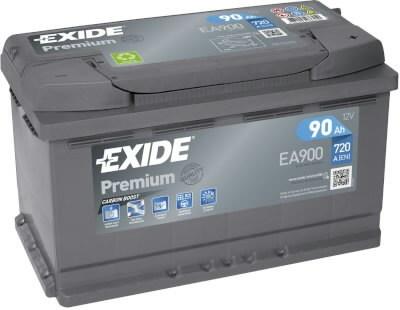 Baterija Premium 90Ah720A 315x175x190-+, Exide