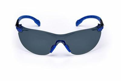 Apsauginiai akiniai mėlynai/juodais rėmeliais, pilki UU003718549, 3M