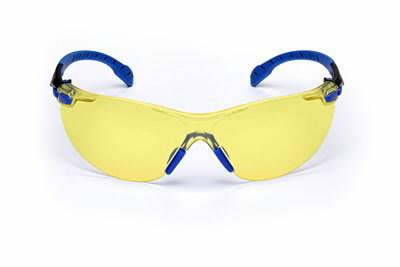 Apsauginiai akiniai mėlynai/juodais rėmeliais UU003718564, 3M