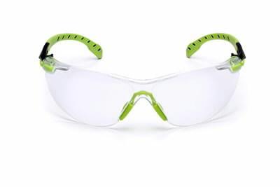 Apsauginiai akiniai žaliai/juodais rėmeliais, skaidrūs UU003718168, 3M