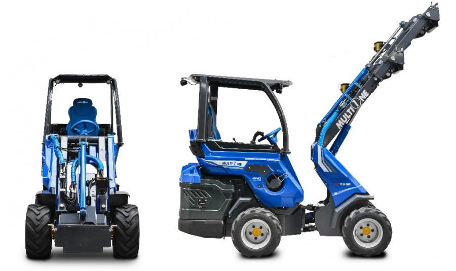Universālais traktors Multione SD8.4, MultiOne