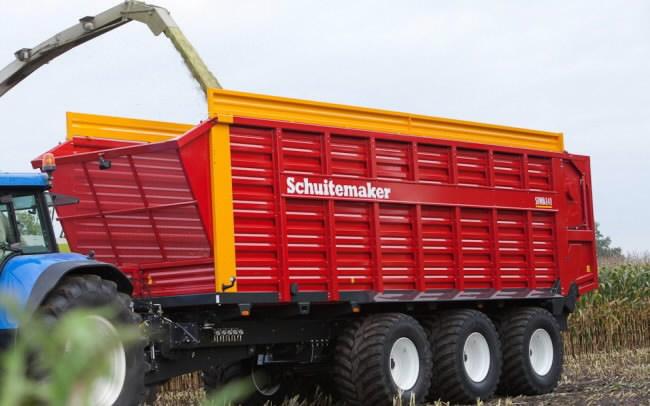 Silokäru  SIWA 840 S, 58 m3, Schuitemaker