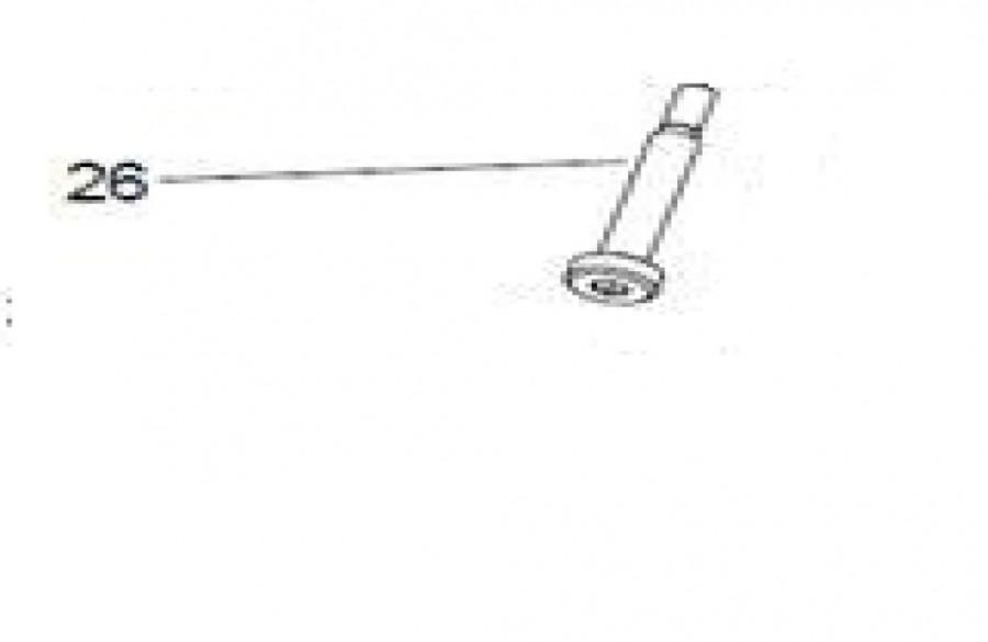 Sõrm/pöördtelg (nr.26) BM16-le, Promotech