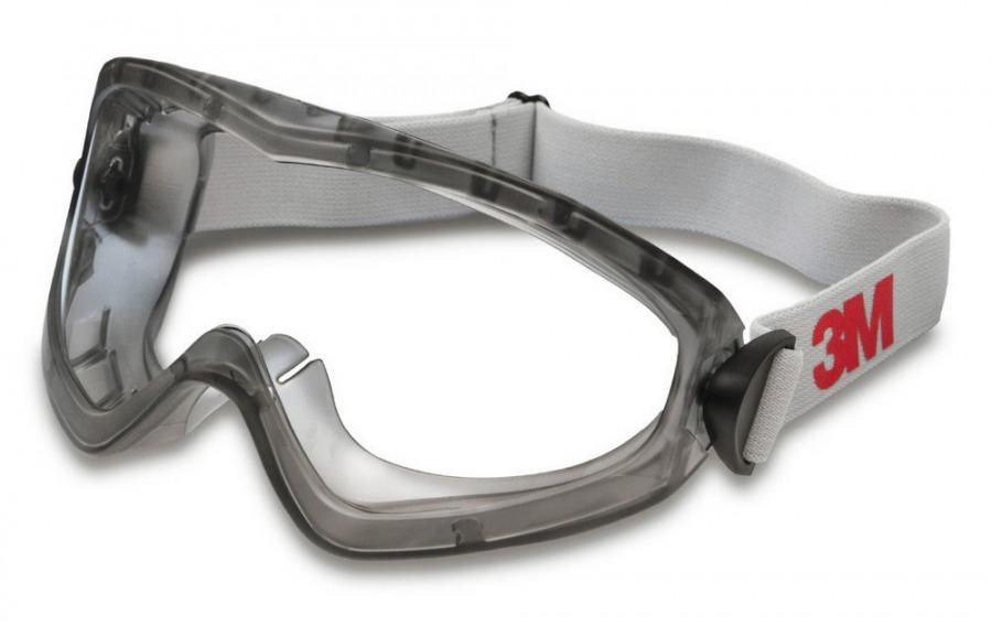 Kaitseprillid 2890SA, läbipaistev atsetaat. Masktüüpi., 3M