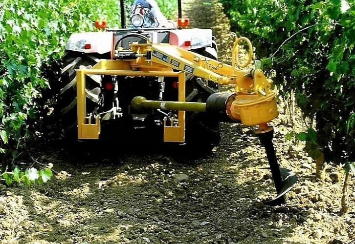 Žemės grąžtas Selvatici T34 (su hidrauliniu pasukimu), PADAGAS