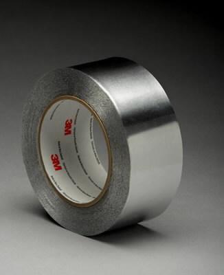 Aliuminio folijos juosta 25mm x55m 425 , 3M