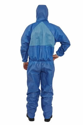 Protective overall, blue (breathing) T4532+ S, 3M
