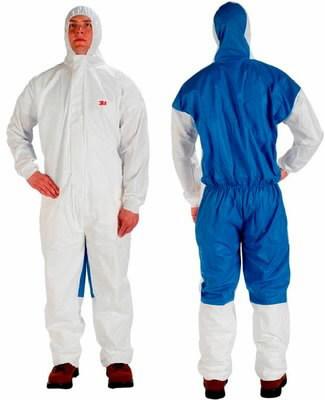Kaitseülikond 4535 kaitse 5/6, sinine/valge, XL, 3M