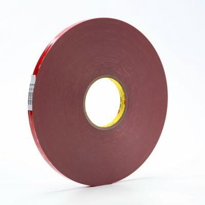 VHB 4611F akrilinė dvipusė juosta 9mm x33m pilka, 3M