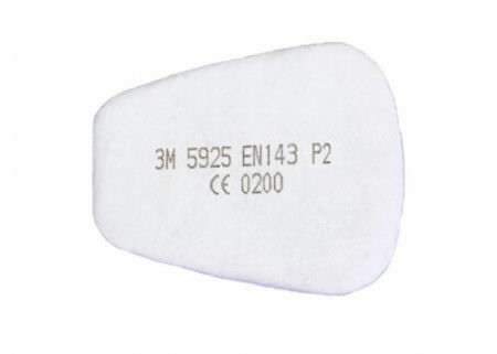 priešfiltris P2 (pora), 3M