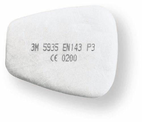 priešfiltris P3 (pora), 3M