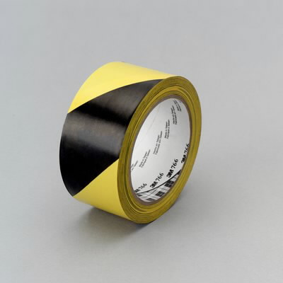 Juosta vinilinė geltona juoda 50mm x 33m , 3M