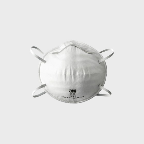 Tolmurespiraator klapita 8101 FFP1 NR D UU001643293, 3M