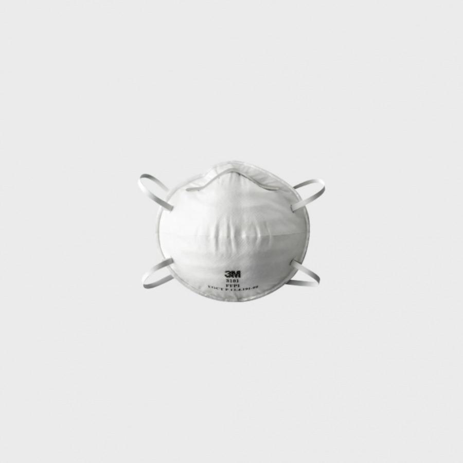 Tolmurespiraator klapita 8102 FFP2 NR D UU001643301, 3M