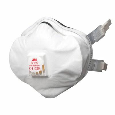 Tolmurespiraator klapiga  8835 FFP3, 3M