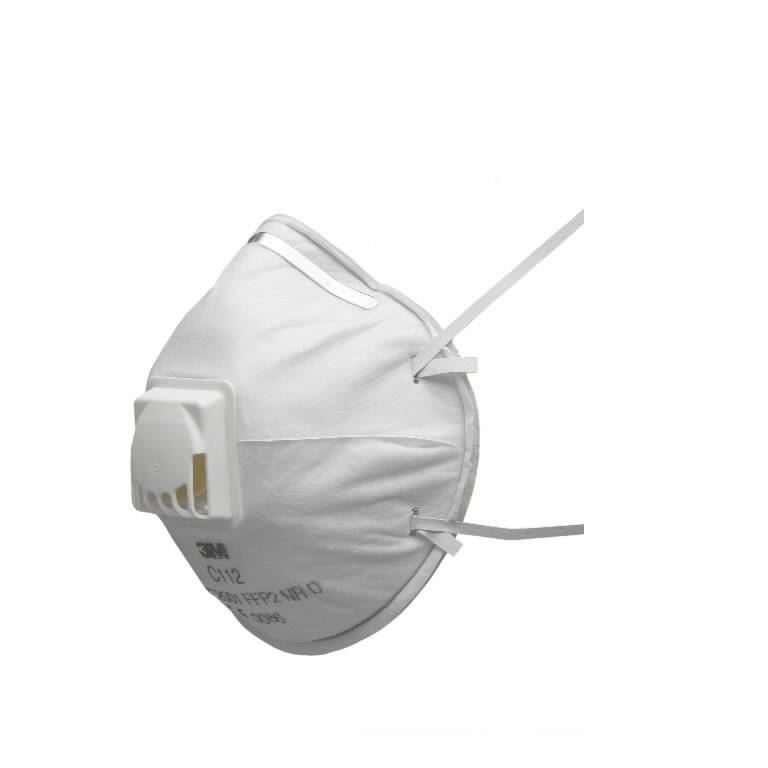 Respiratorius su vožtuvu C 112 FFP2 NRD, 3M