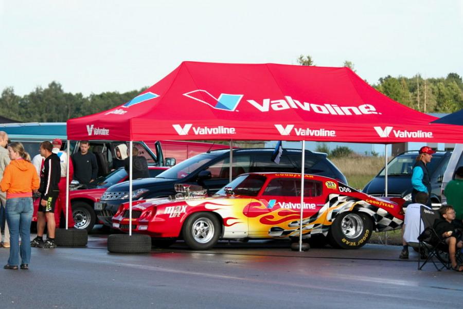 Tent VALVOLINE, Valvoline