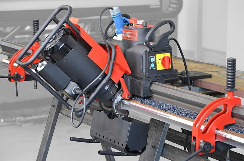 Automatinė briaunų frezavimo mašina ABM 28, Promotech