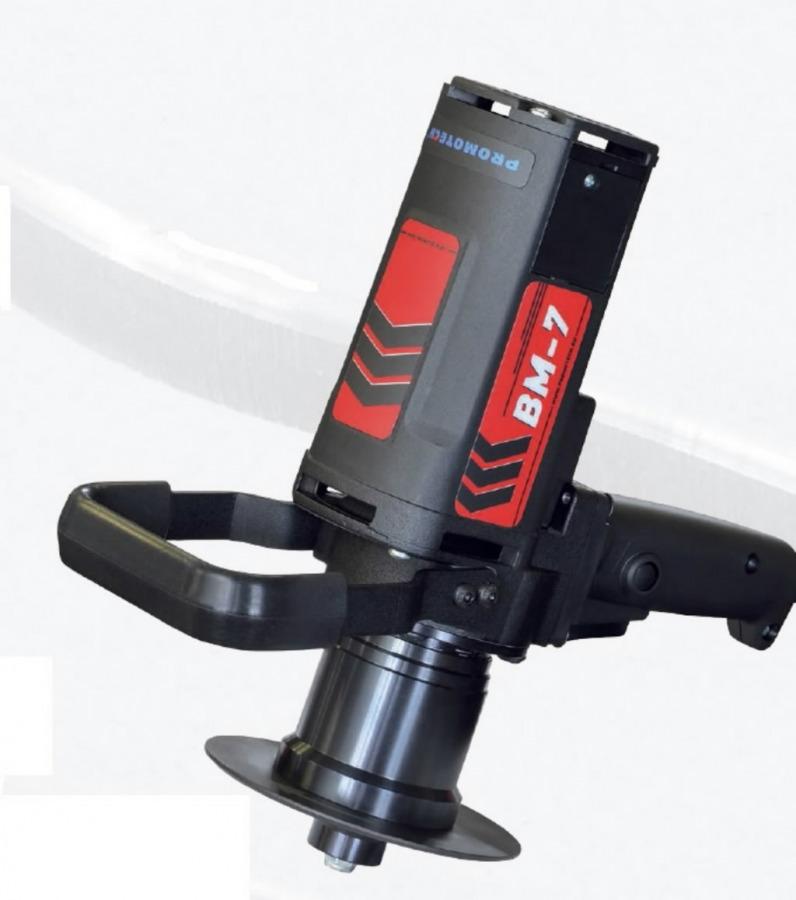Faasimismasin BM7 230V koos peaga 45°, ilma lõiketeradeta, Promotech