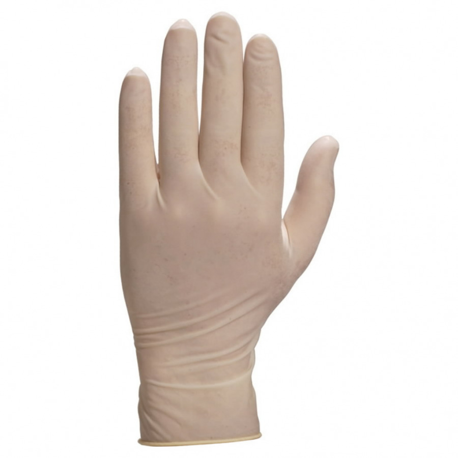 Powdered latex disposable gloves 6/7 (pack. 100pcs), Delta Plus