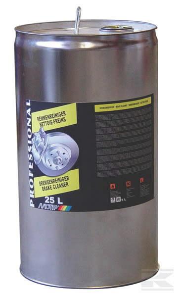 Piduripuhasti/puhastusaine BRAKE CLEANER 25L, Motip