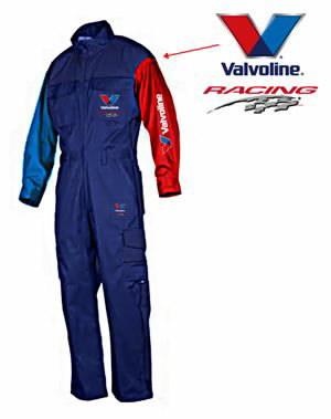 VALVOLINE Racing Kombinezonas XL, Valvoline
