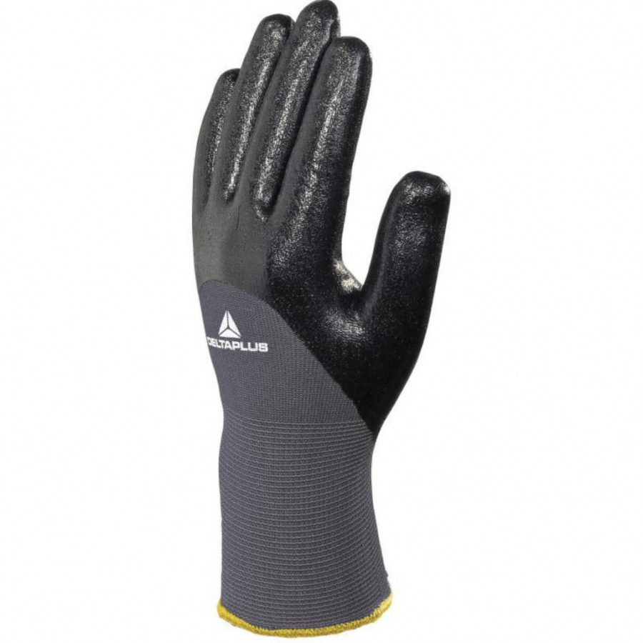 Gloves, polyamide knitted, nitrile coated, size 9, Venitex