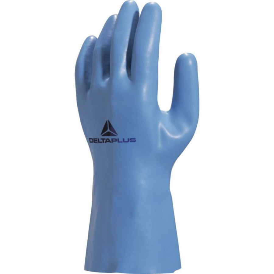 Gloves latex cotton knitted fabric lining 30cm, Delta Plus