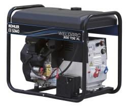 keevitusgeneraator WELDARC 300 TDE XL C, SDMO