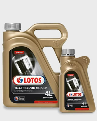 Mootoriõli TRAFFIC PRO 505.01 C3 5W40 4L, Lotos Oil