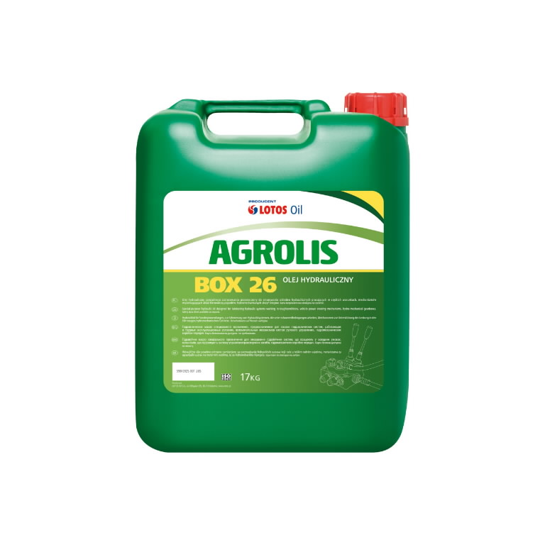 Traktorių alyva AGROLIS BOX 26 L-HV 46 19L, Lotos Oil