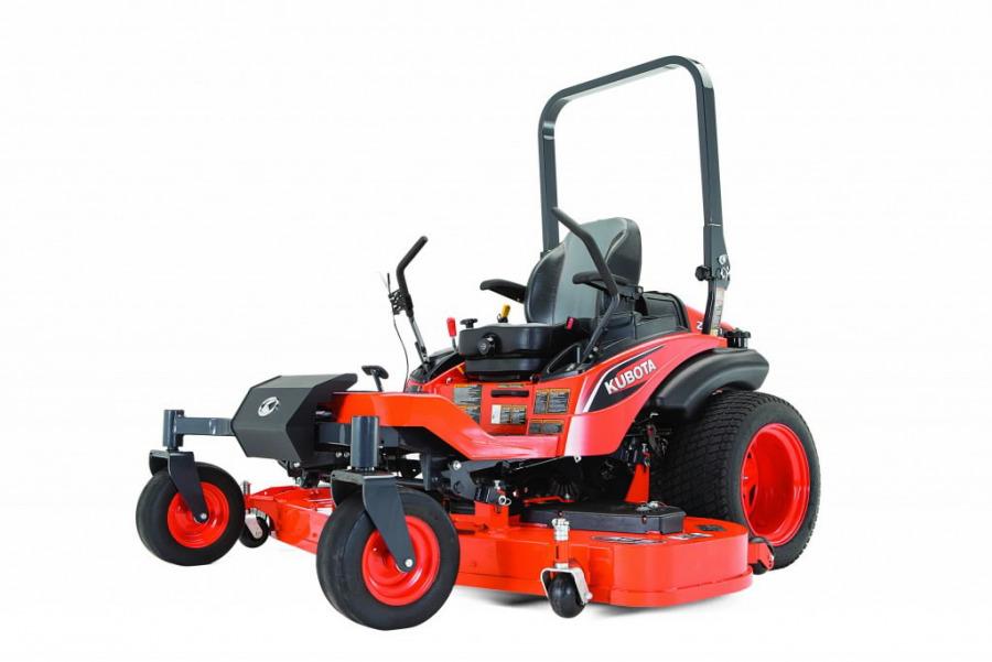 Nulles apgriešanās rādiusa mauriņa traktors ZD1211R 60R, Kubota