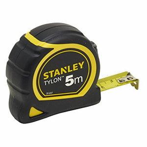 Ruletė 5m x 19mm klasė II TYLON dengta juosta, Stanley