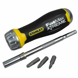 XTREME Multibit rachet set (10 bits), Stanley