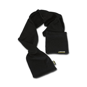 Knitted scarf black, Kärcher
