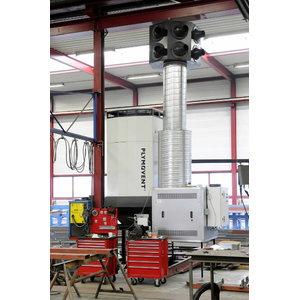 Mētināšanas dūmu filtrācijas sistēma Diluter Pro, Plymovent