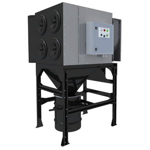 Central filter system MDB-4F (536) with CART-D filters, Plymovent