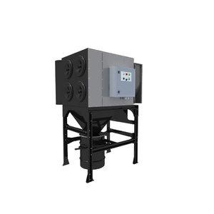 Centrinė filtravimo sistema MDB-4F (536) su PTFE filtrais, Plymovent