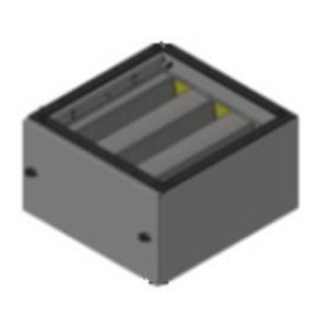 Filter module CFM-M with carbon filter cassette, grey, Plymovent