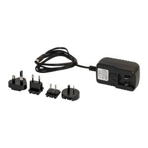 Battery charger with international plug set for PersonalPro, Plymovent